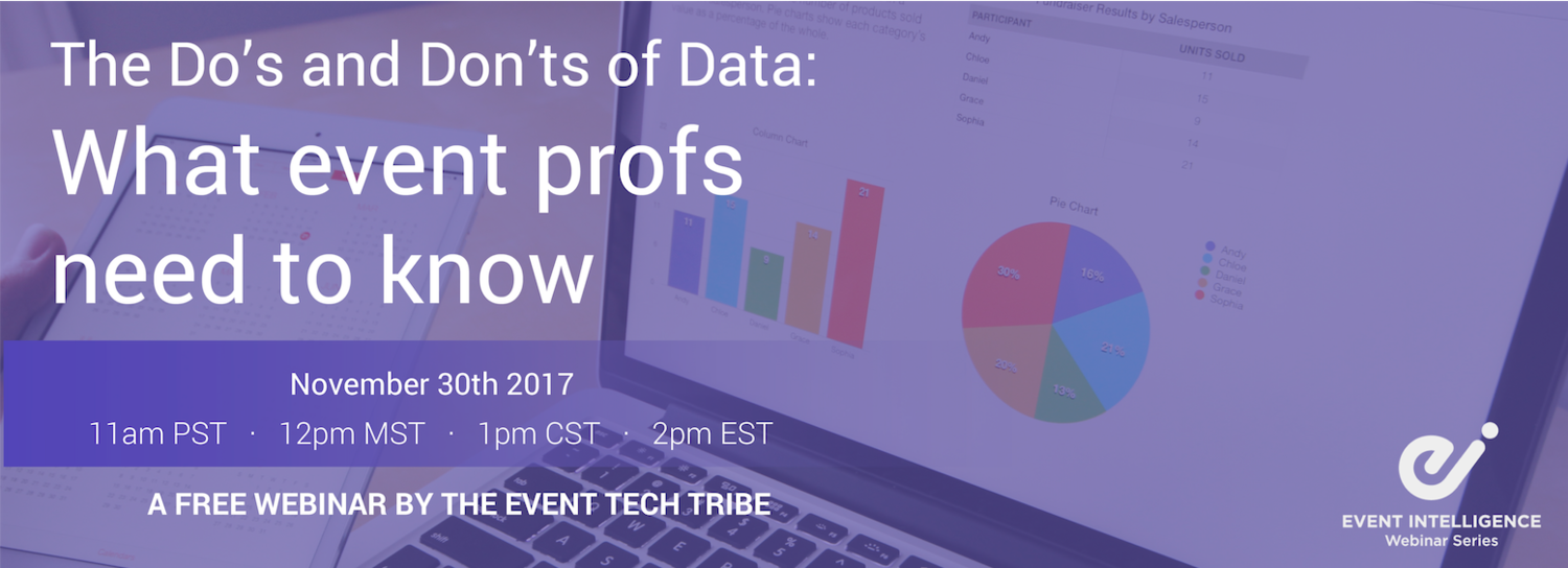 1Pm Pst To Cst replay: the do's and don'ts of data - what event profs need