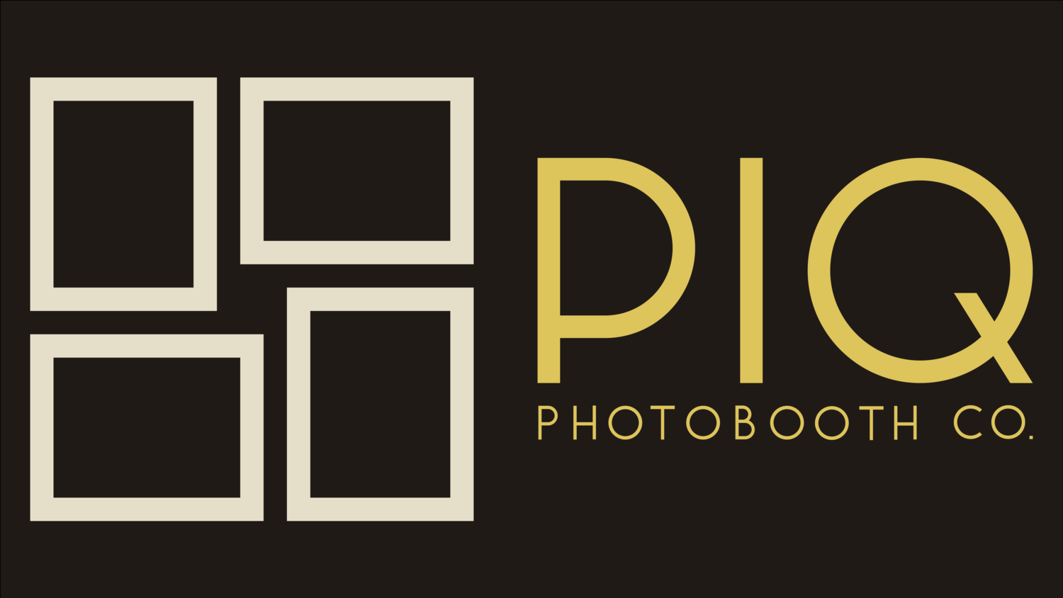 PIQ PHOTOBOOTH CO. | Seattle Photobooth Rental Services