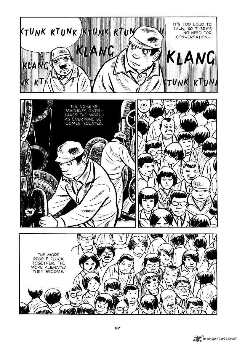 "Yoshihiro Tatsumi – ""Beloved Monkey.""  Abandon the Old in Tokyo.  Drawn and Quarterly, 2012: 87 –   Source"