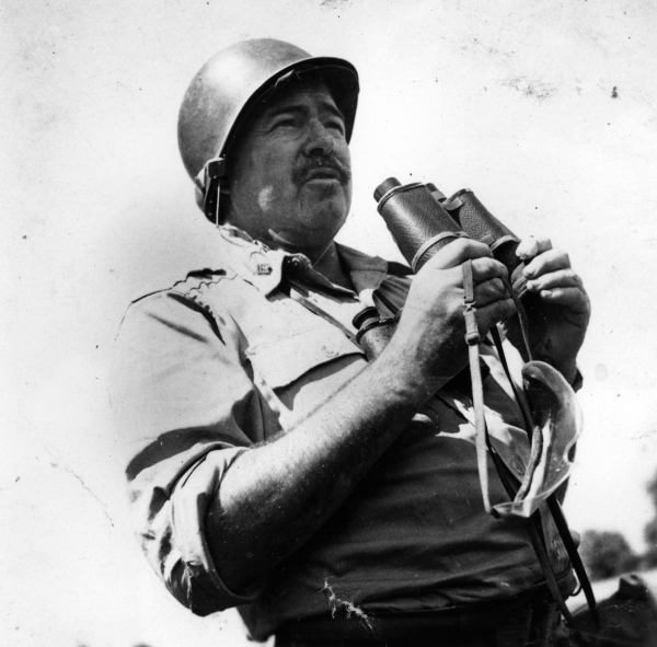Hemingway during the war. –   Source