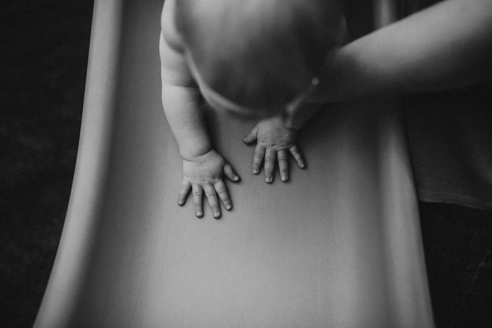 Those hands won't be this little next year. My second favorite photo from the day…