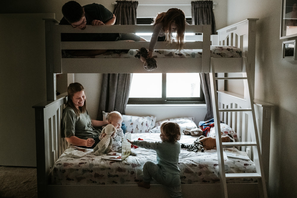 A Day in Your Life - All of it your story; memories documented in film & photos for generations to see, hear and remember.From the early morning wake ups, sleepy pajama hair, to the snuggles and hugs and wrestling.