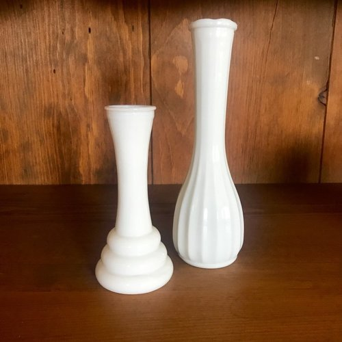 Milk Glass Vases Birdie In A Barn Vintage Event Rentals Murrieta Ca