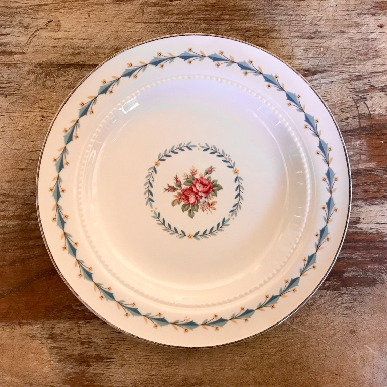 "Bluebird China Bread or Appetizer Plate.    6""-7"" Bread or Appetizer Plate. Mismatched"