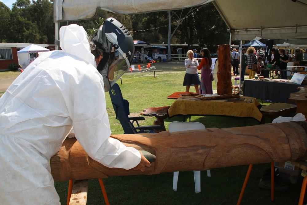 Noel Bulter woodcarving