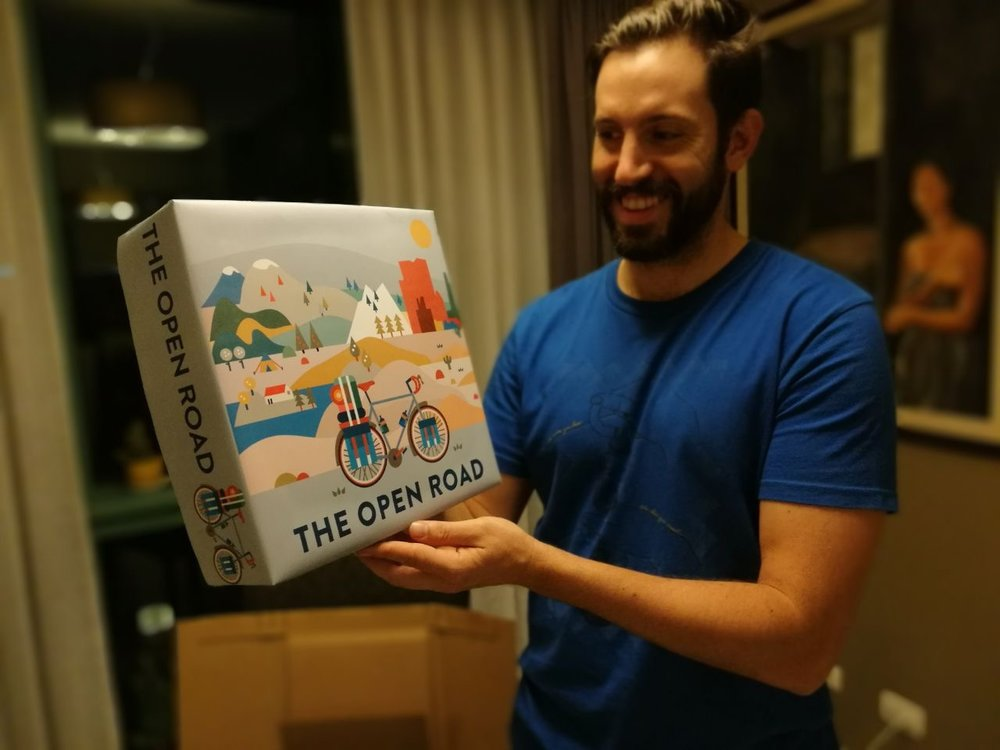 Finally....a box!