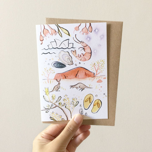 GREETING CARDS Doris Chang Illustration