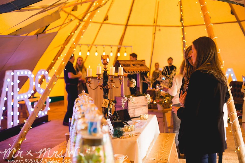 Tipi at Adlington Hall & Gardens
