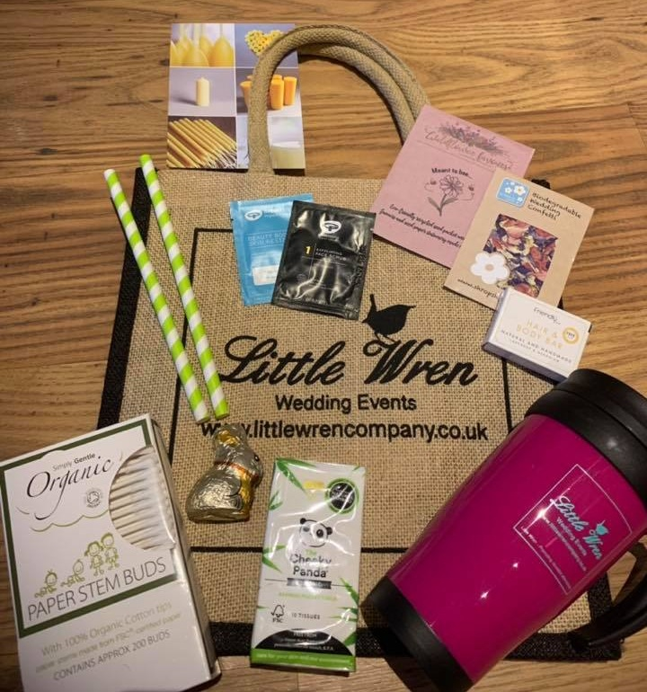Goody Bags may change subject to availability