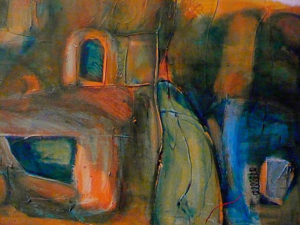 Mixed Media 2013  Sold
