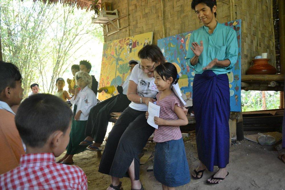 Painting A Village-2015 Burma