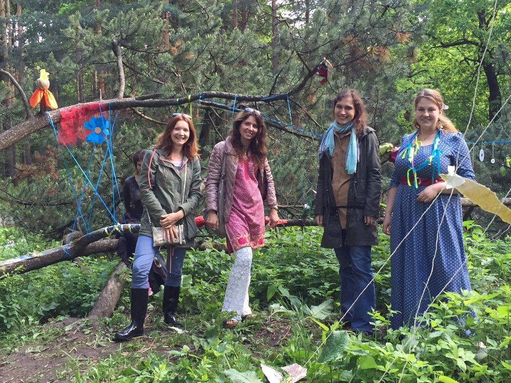 Eco Art Therapy-2016  Moscow Botanical Gardens