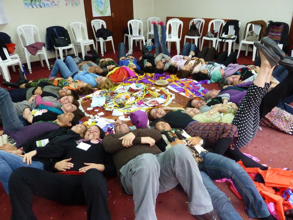 Healing from Trauma Through Art-2013  Lima, Peru