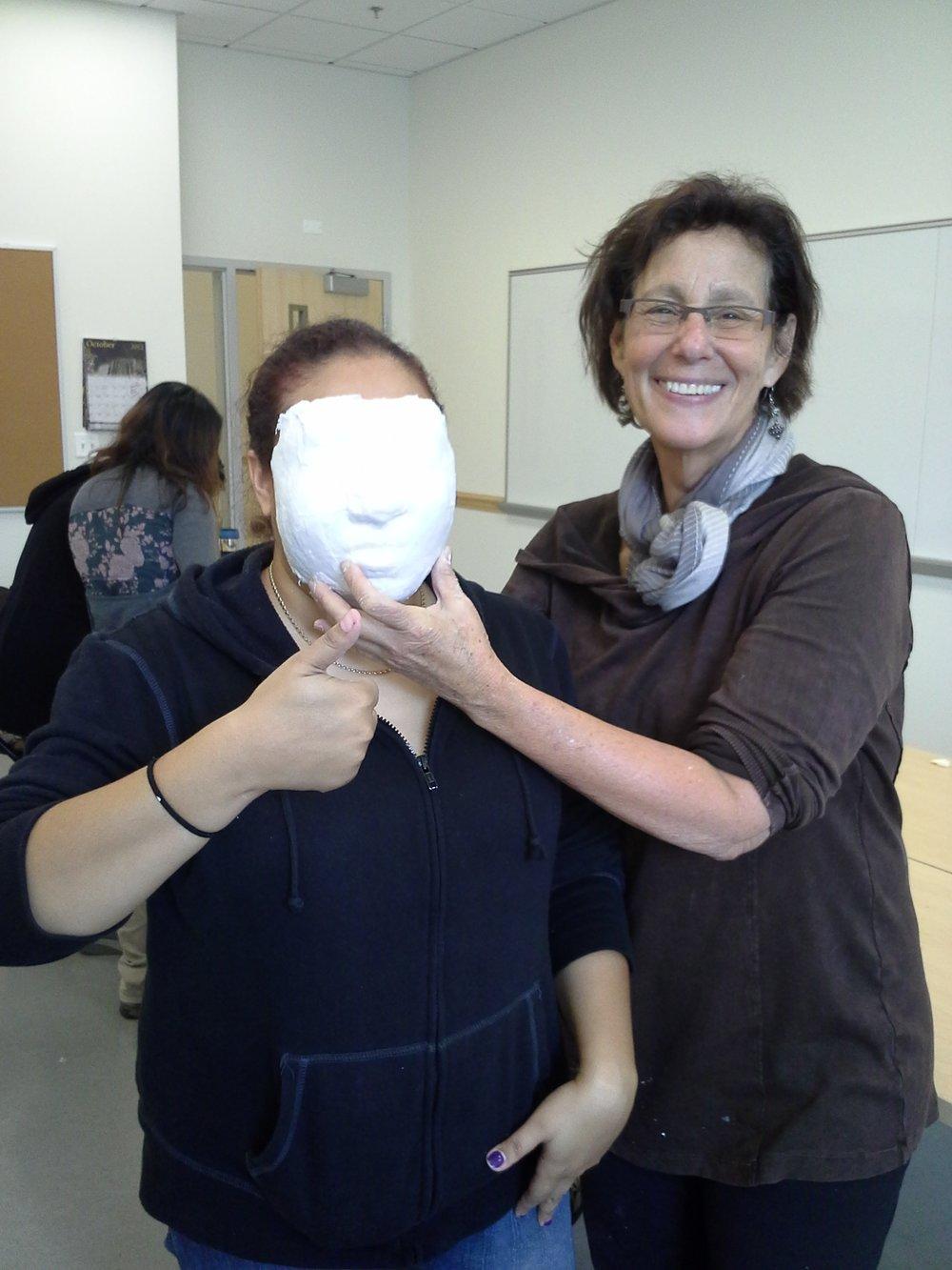 Mask Making Workshop- 2014  Pyramid Atlantic  Silver Spring, MD