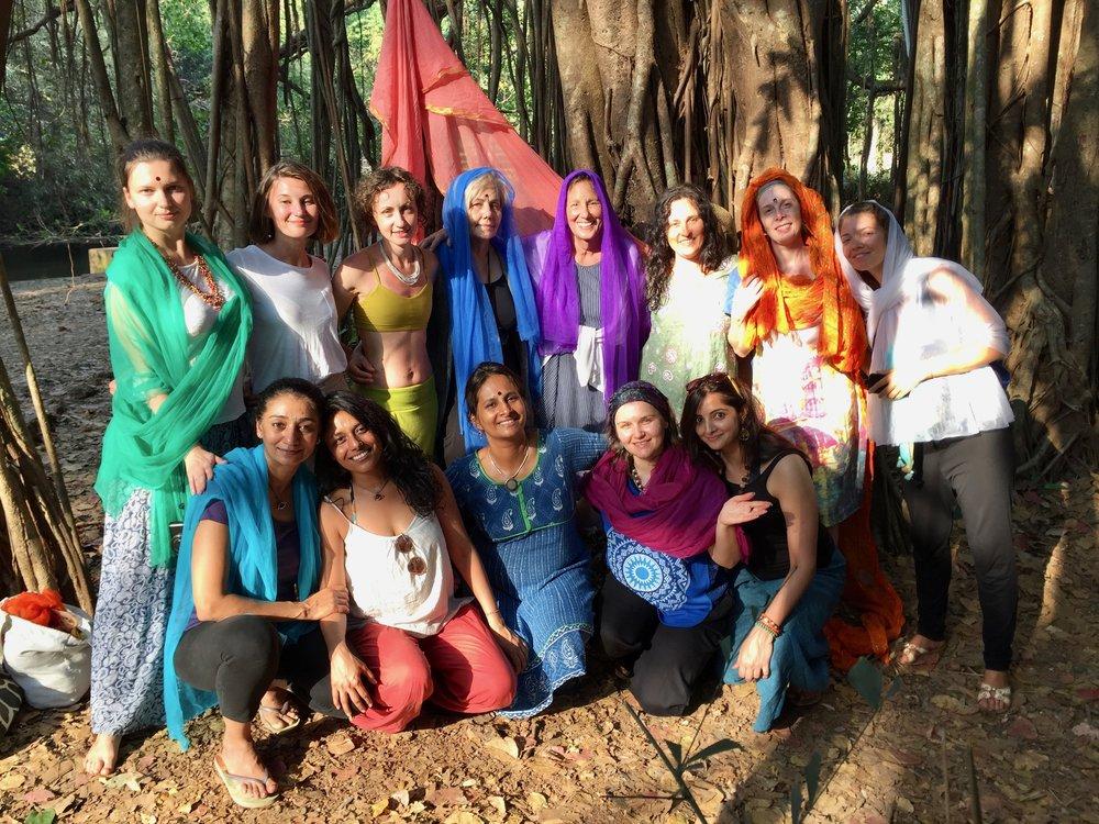 The Unfolding Lotus- 2017  Goa, India