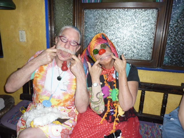 With Patch Adams MD-2014-Guatemala City
