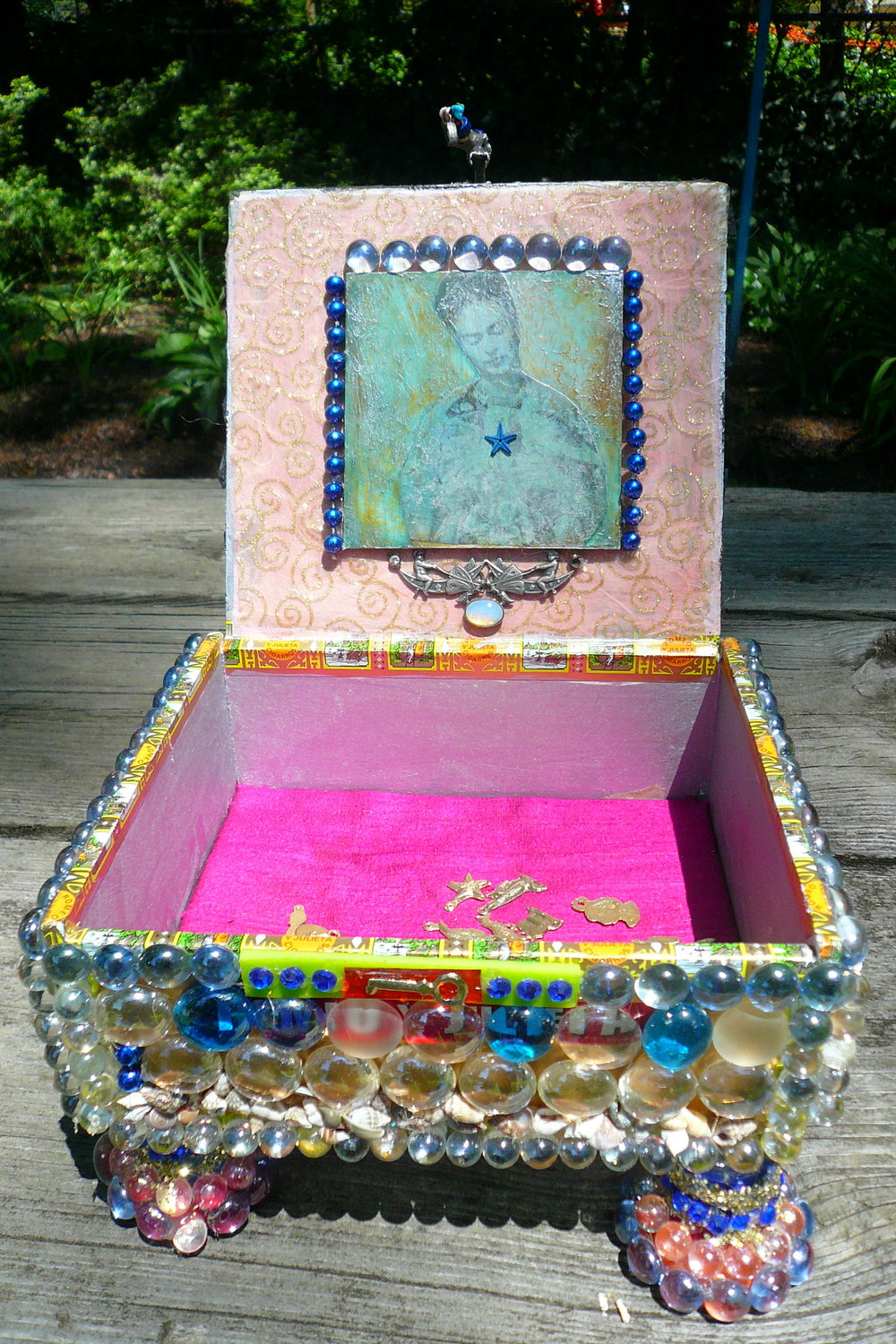 Frida's Box  Mixed Media 2010