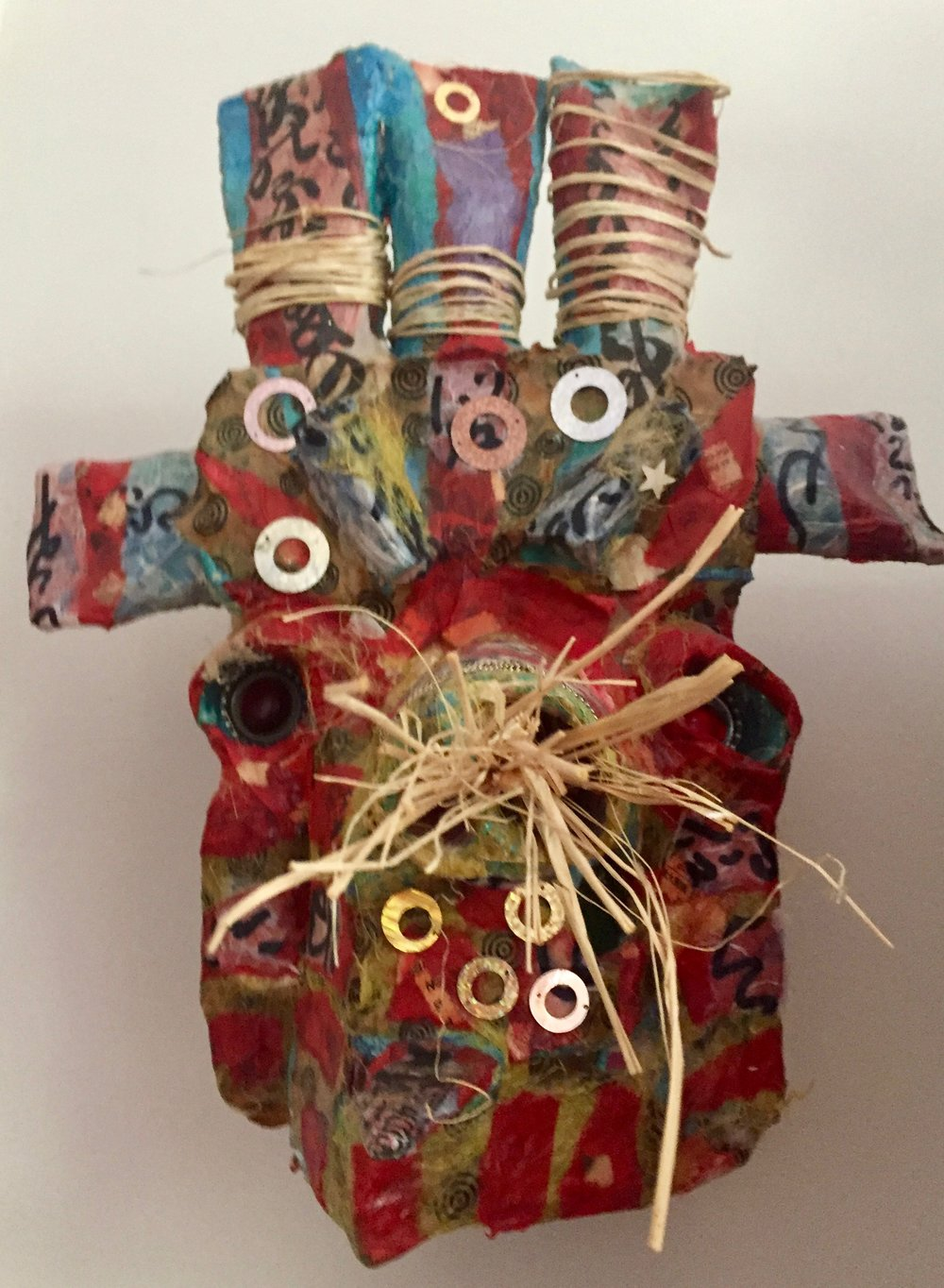 How Now Red Cow? 2015  Paper Mache