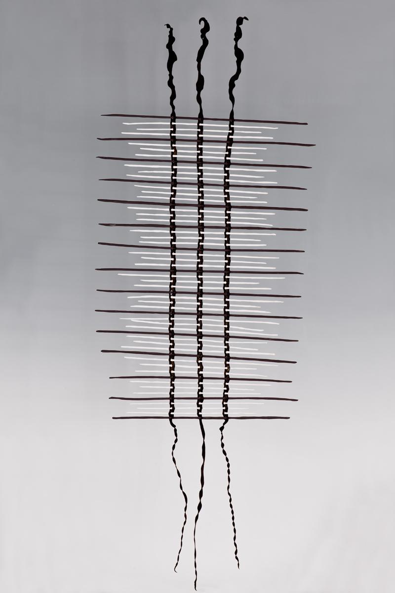 JaneBamford2017 Weaving-UK Black&Southern Ice Porcelain Spines and Bull Kelp Across Oceans 1400mm x 520mm.jpg