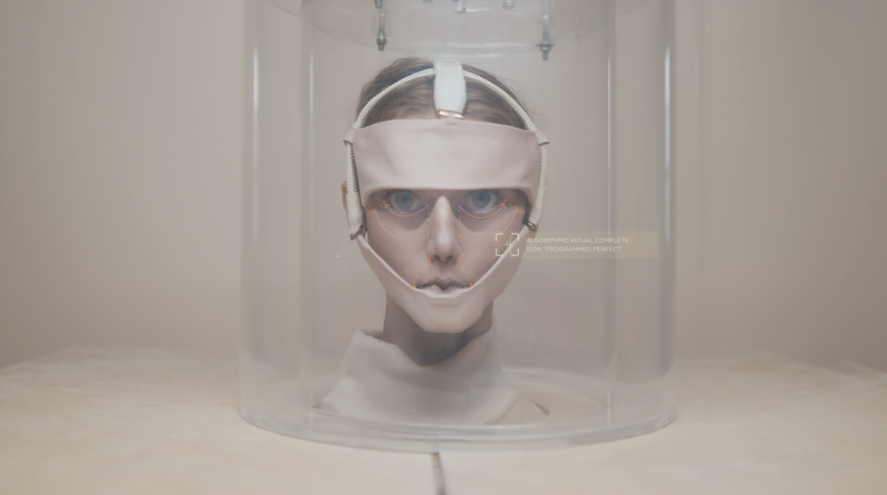Lucy McRae AI BIOMETRIC MIRROR