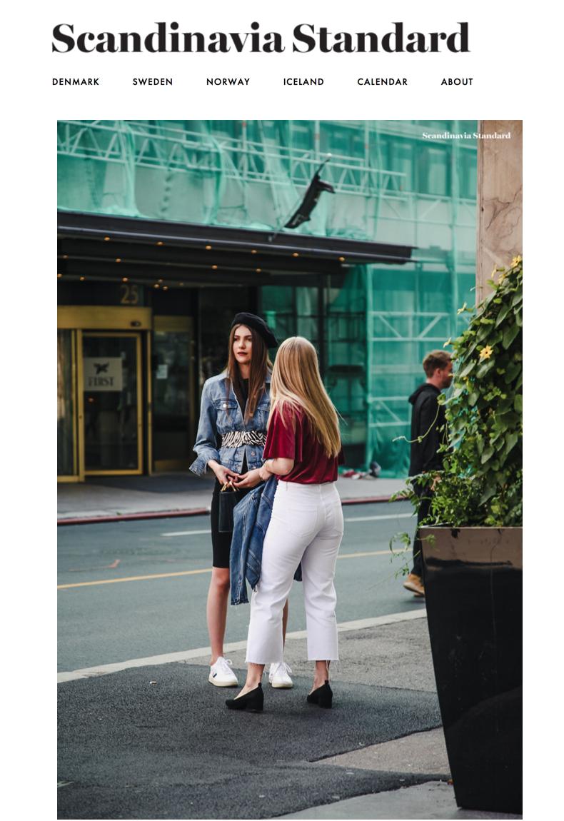 """""""Best of Oslo Runway Street Style SS18"""" By Scandinavia Standard."""