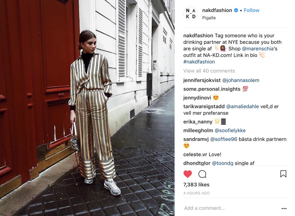 Na-kd Fashion Istagram Repost