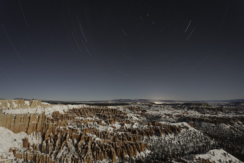 Bryce Canyon and Star Trails