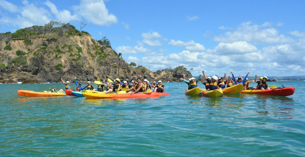 SEA KAYAKING -