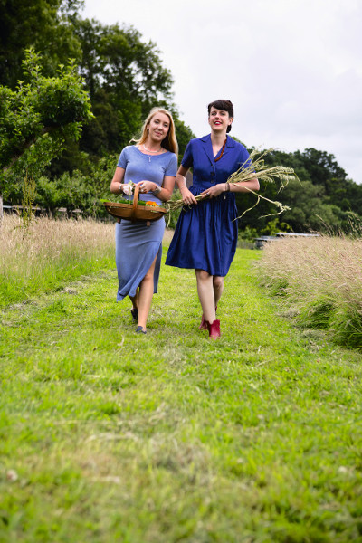 Kim and Vicky of Handmade Apothecary