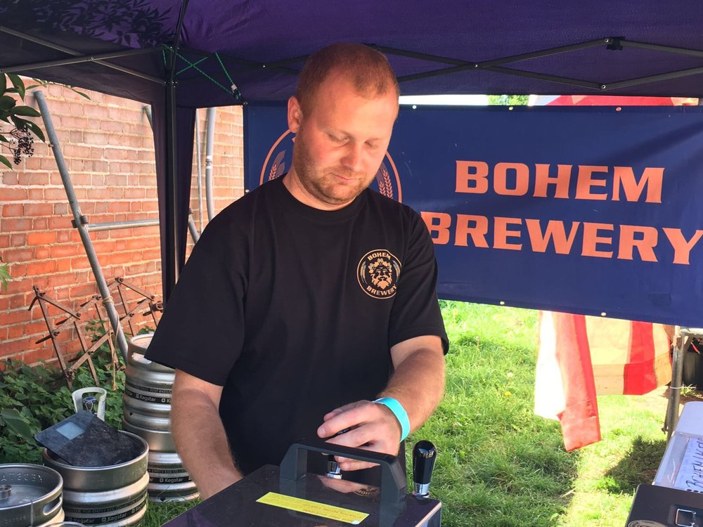 BOHEM BREWERY   Enjoy a bottle of Bohem's great tasting range of Czech beers produced in their microbrewery and Taproom just up the road in Myddelton Road