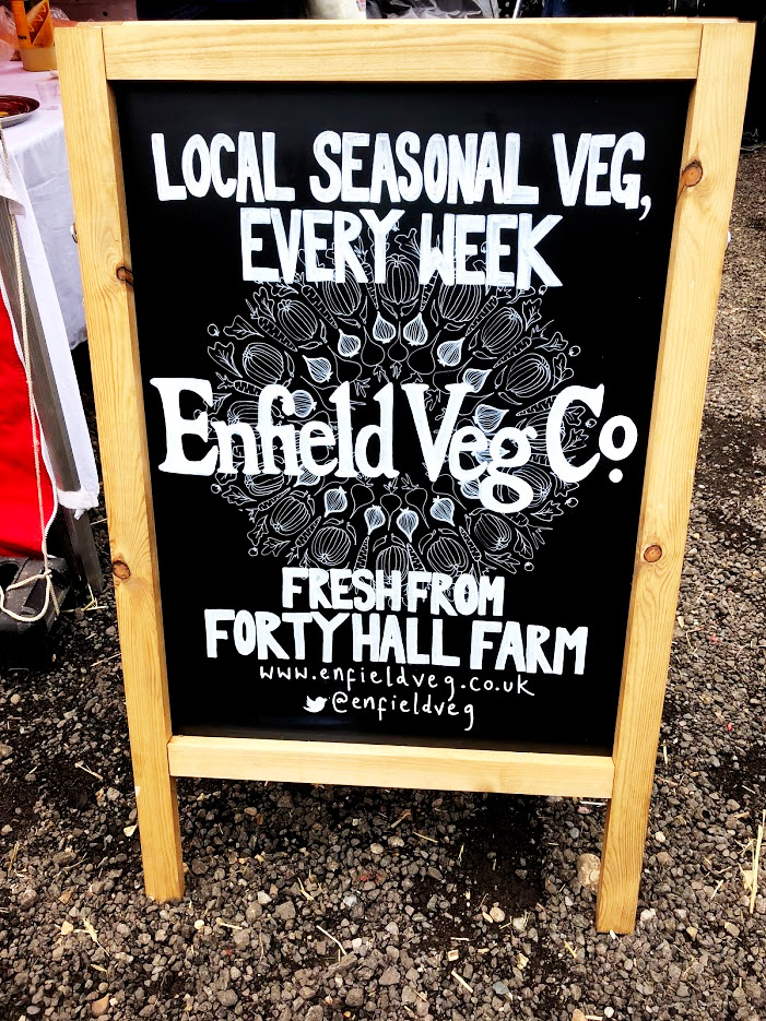 FORTY HALL FARM - ENFIELD VEG CO.   Pick up some seasonal produce from the market garden of Forty Hall Farm and find out about signing up to the  Enfield Veg Co.  bag scheme   Photo Tara Sura / fork and Dram