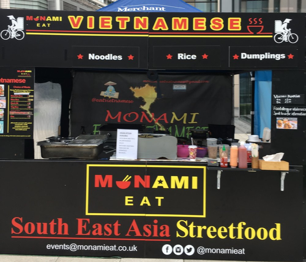 MONAMI EAT   Authentic Vietnamese streetfood like noodles with honey pork, chilli chicken, dumpling using high quality ingredients    https://twitter.com/eatvietnamese