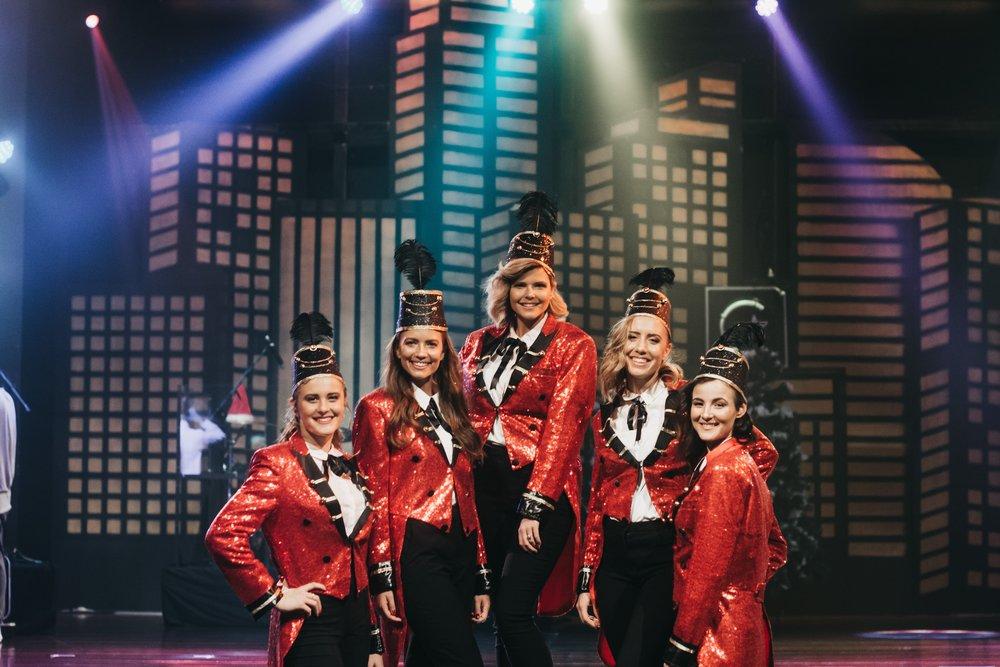 The Sydney City Sleigh Ride Girls