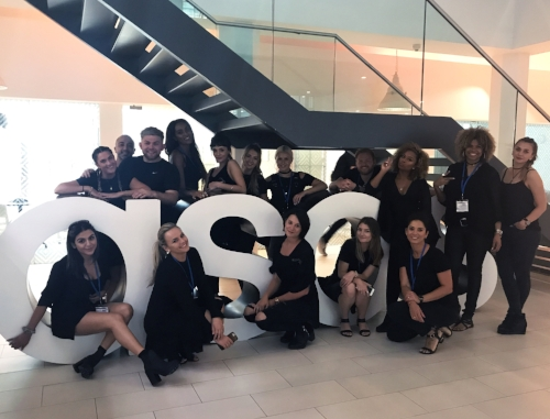 ITS A WRAP! The Blowout Ibiza Team ends the day at ASOS HQ