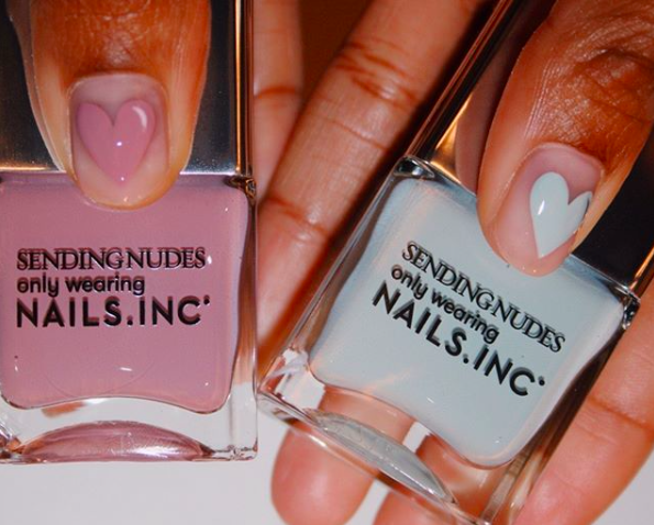 Nails Inc SENDING NUDES collection.