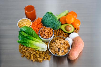 Folate and folic-acid fortified foods