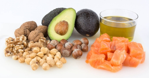 Omega-3 fatty acid-rich foods