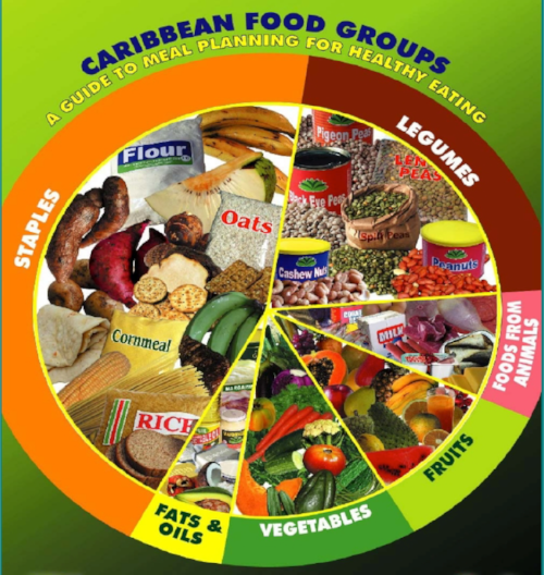 The Caribbean 6 Food Groups - As we've covered the basics in the previous blog post, now we can get into the good stuff. Food groups are categorised based on their primary energy and nutrient profile.