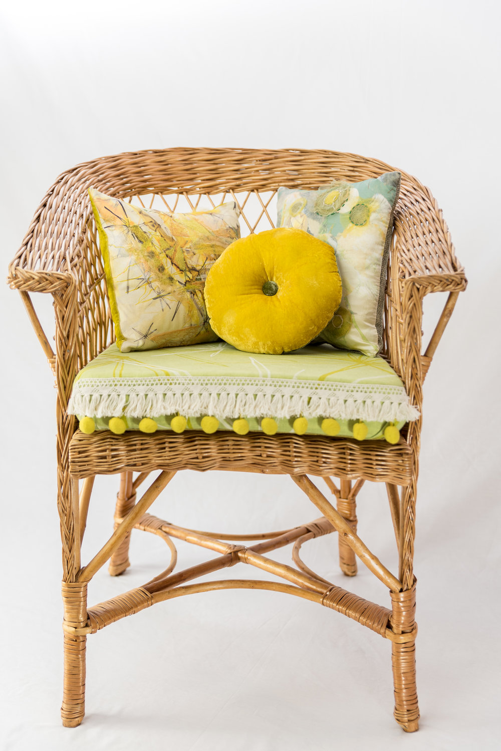Exotic Wicker Chair