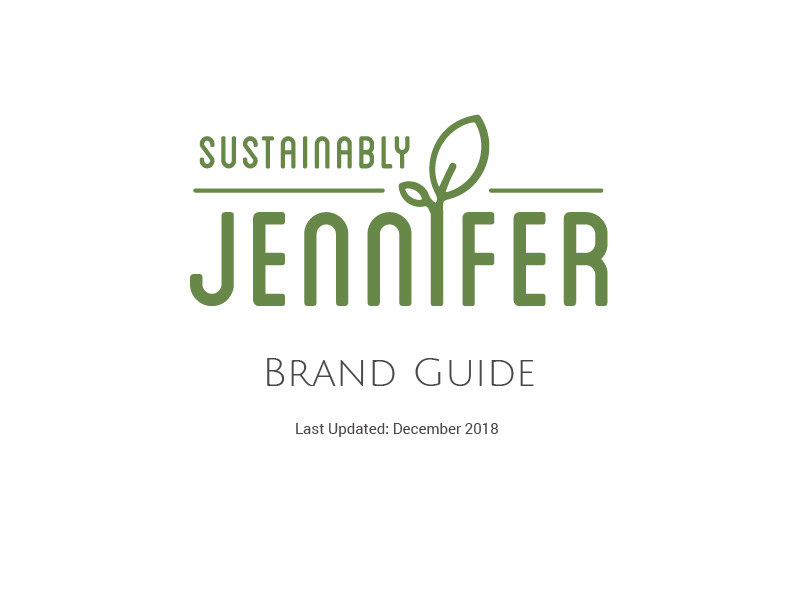 Brand Guide Page 1