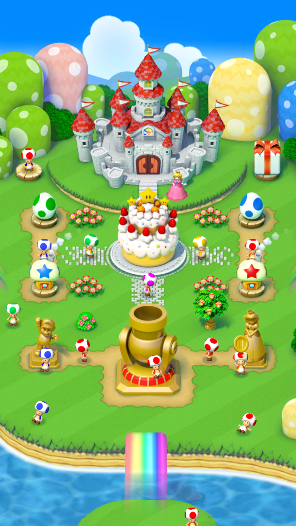 My Level 20 Kingdom Screen