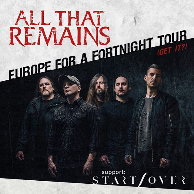 We're coming for you, @melkwegamsterdam as we're supporting one of the founders of metalcore, the almighty @allthatremains 🔥  Get your tickets fast⚡️ Link in bio!  This is going to be the last show for this year and before we will fully focus on our upcoming album, so be there!