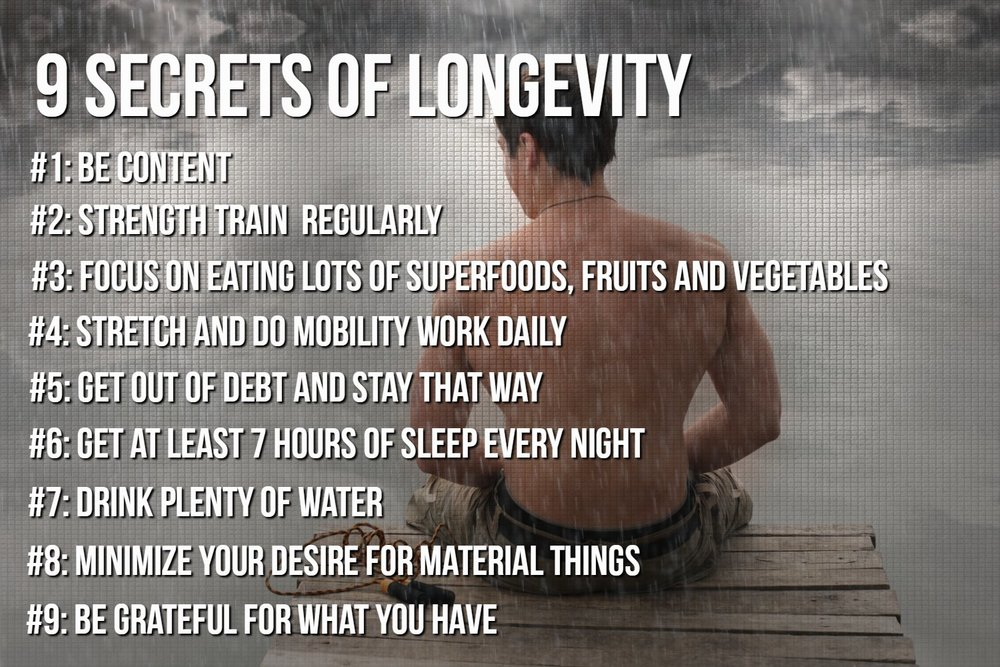 9 Secrets of Longevity
