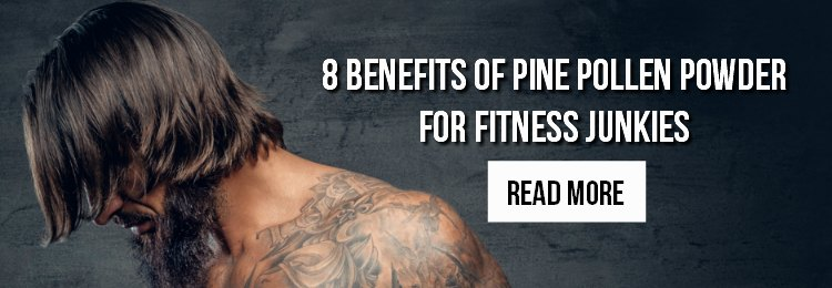 Benefits of Pine Pollen for Bodybuilding and Fitness Banner