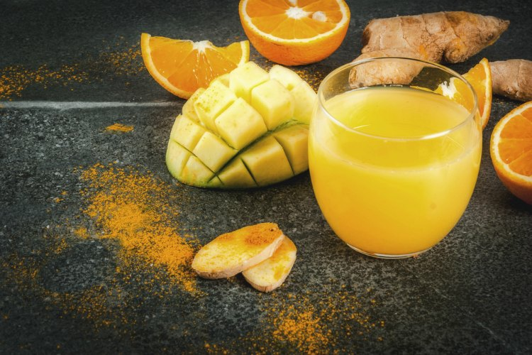 Click here to see our tasty turmeric, orange, pineapple, and mango smoothie recipe