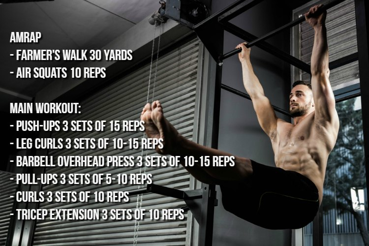 Weekly Workout Program 12.18.17
