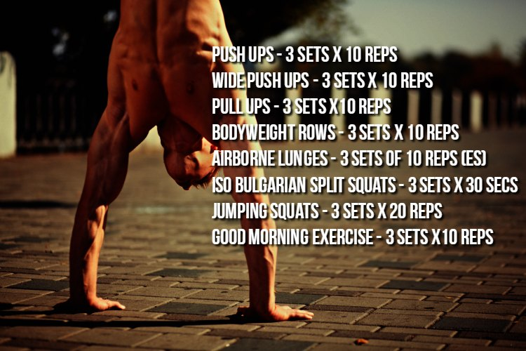 Weekly Workout Program #2