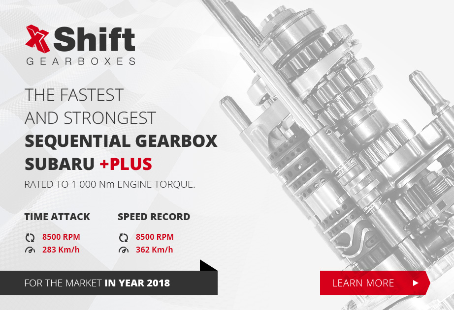 Mechanical Advantage Racing Now Sells XShift Gearboxes! - XShift is the leader sequential gearbox and drivetrain technology with the fastest shifting and most durable transmissions for Subaru, Mitsubishi and Porche applications!