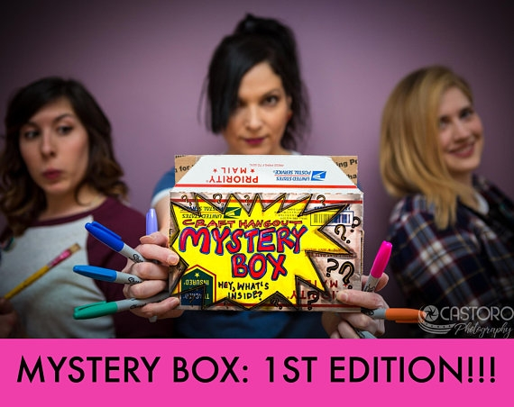 Craft Hangout Mystery Box: 1st Edition!