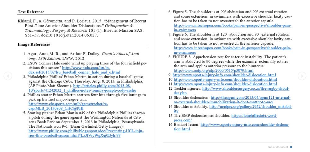 1. Preliminary research